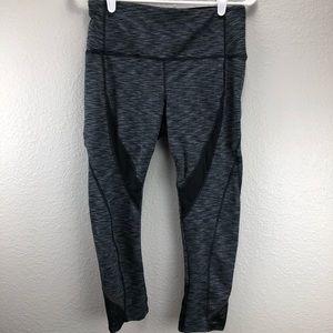 Women's Clothing Leggings NWT Avia Womens Black Yoga Velvet Stripe Velour Legging Athletic Workout Pant